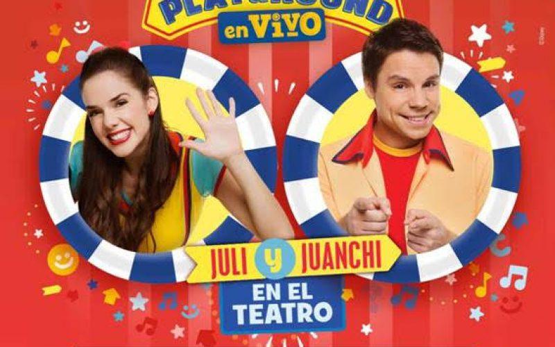 Juanchi y Juli. Playground