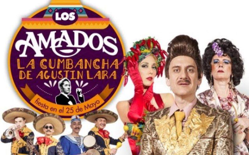 Los Amados, La cumbancha de Agustín Lara