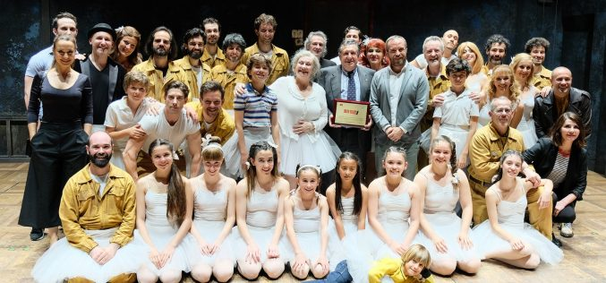 Gaby Goldman homenajeado en Madrid  por su trabajo en Billy Elliot, El Musical