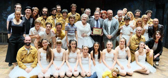 Gaby Goldman homenajeado en Madrid  por su trabajo en Billy Elliot, El Musical