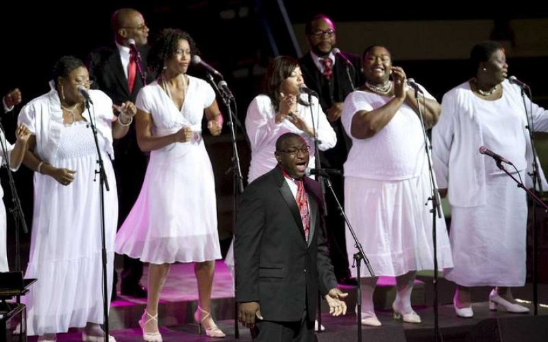 Gregory Hopkins & The Harlem Jubilee Singers (16/5)