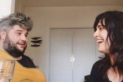 Javier Montalto y Julieta Díaz cantaron juntos durante la cuarentena