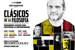 Clásicos de la filosofía. Darío Sztajnszrajber (13/10 al 24/11)