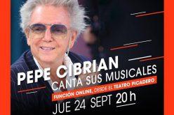 Pepe Cibrián canta sus canciones (24/9)