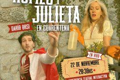Romeo y Julieta en cuarentena