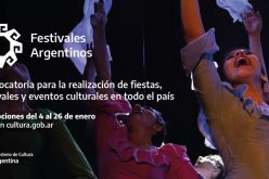 "Abrió la primera convocatoria de ""Festivales Argentinos"""